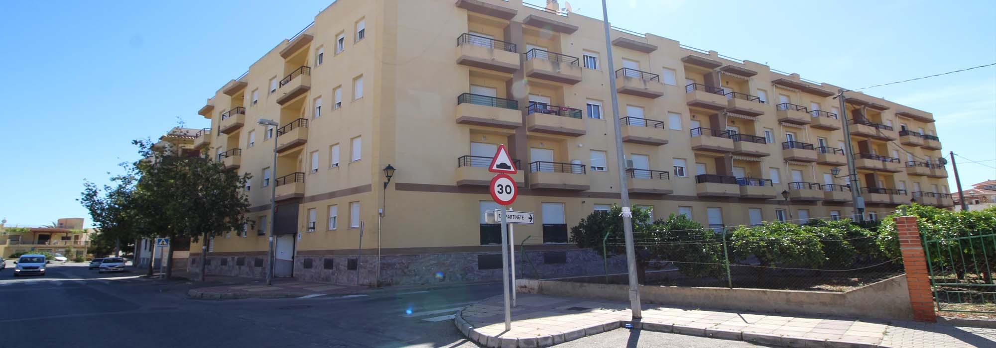Plaza de aparcamiento. El Morro. Cuevas del Almanzora
